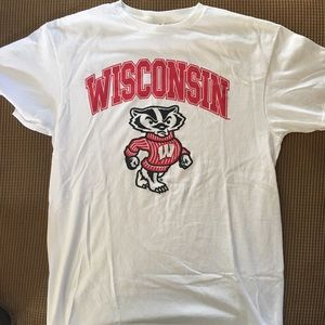 University of Wisconsin T-shirt by delta size M